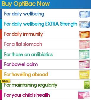 the range of Optibac Probiotic products!