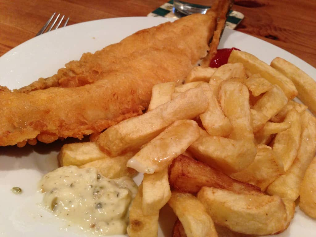 Review henleys fish chip shop wivenhoe gluten free for Gluten free fish and chips