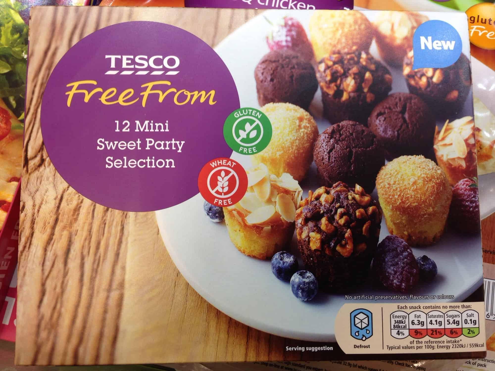 New Gluten Free Frozen Food Tesco Party Food 2014