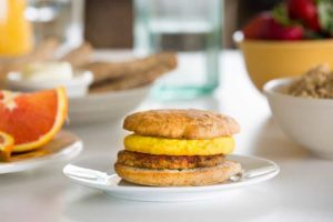 Amy's Kitchen gluten free breakfast sandwich
