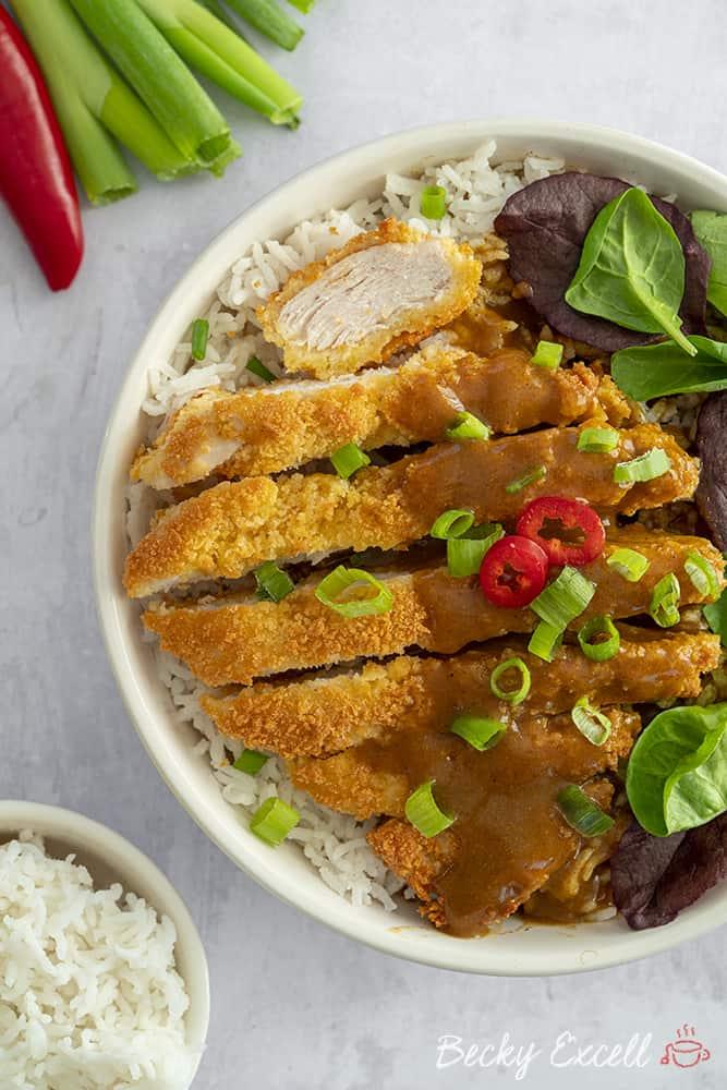 My 'Wagamama' Gluten Free Katsu Curry Recipe (low FODMAP, dairy free)
