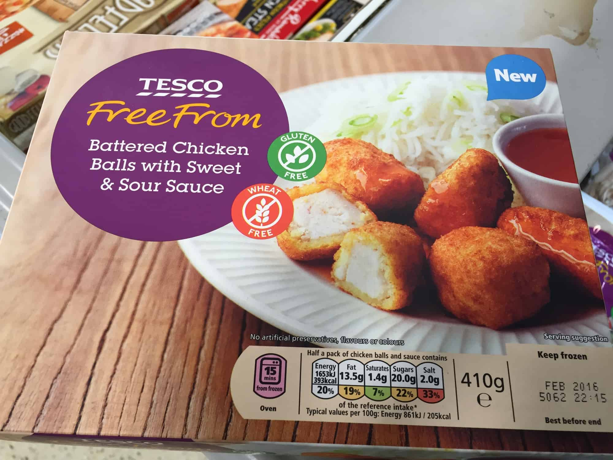 Tesco Free From Update 2015 Gluten Free Dairy Free