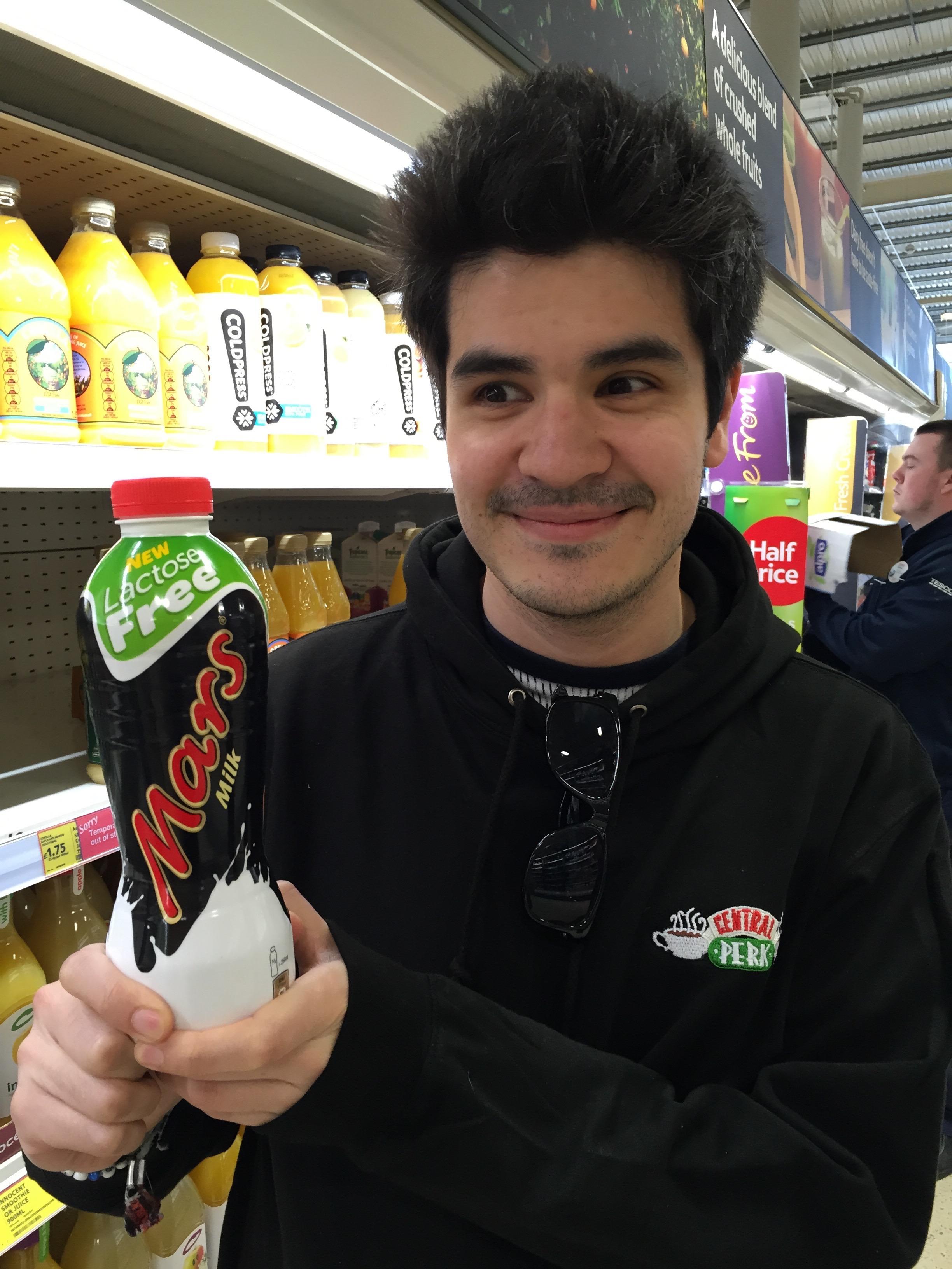lactose free mars milk
