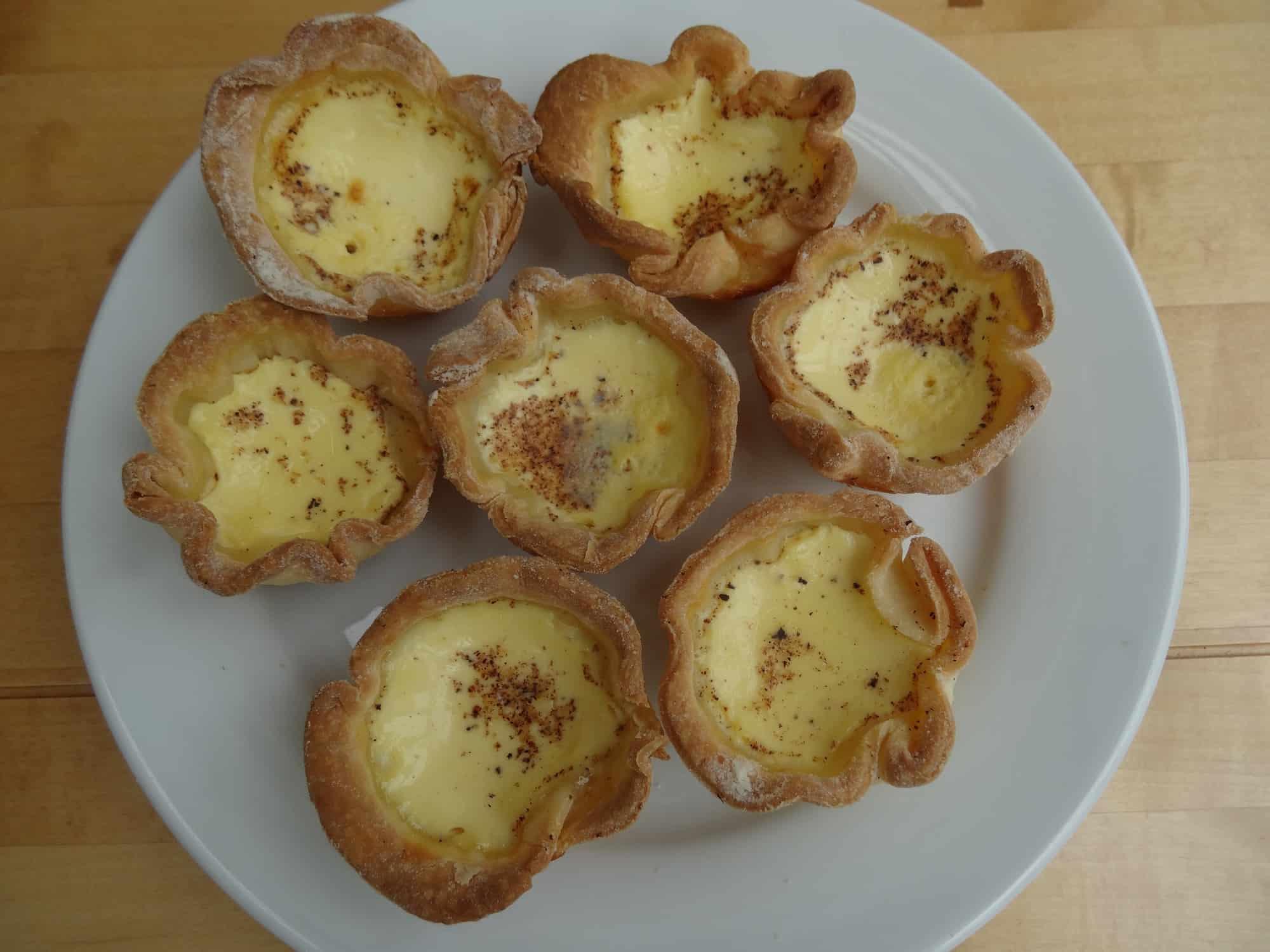 gluten free egg custard