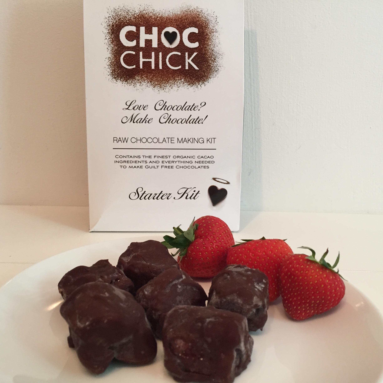 Review Choc Chick Dairy Free Chocolate Making Kit