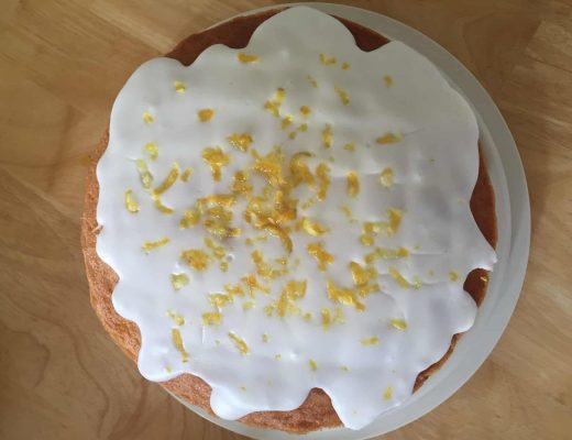 gluten free lemon cake