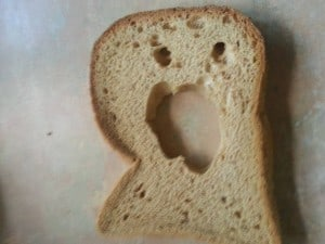 Why does my gluten free bread have holes?!