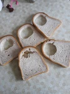 gluten free bread hole-grain