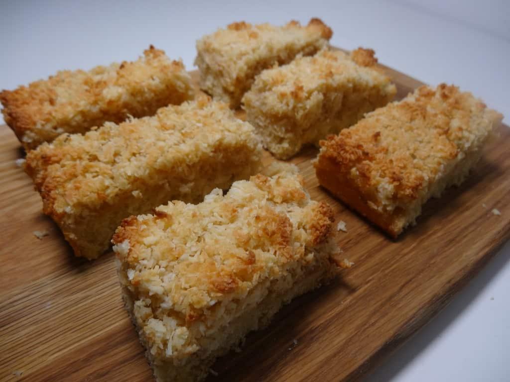gluten free tropical slice