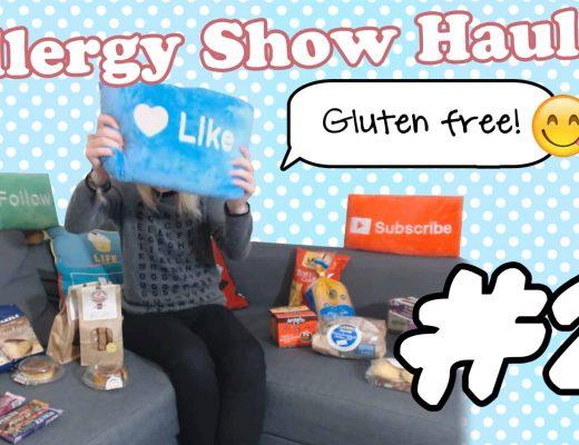 gluten free food haul