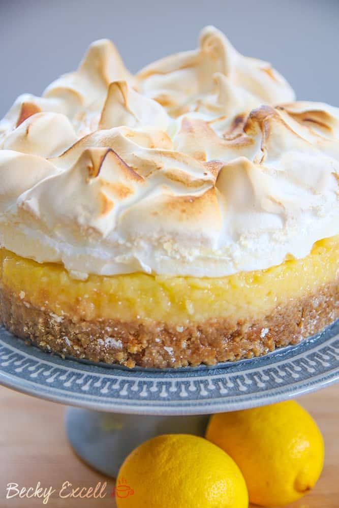 biscuit with bottom meringue Lemon