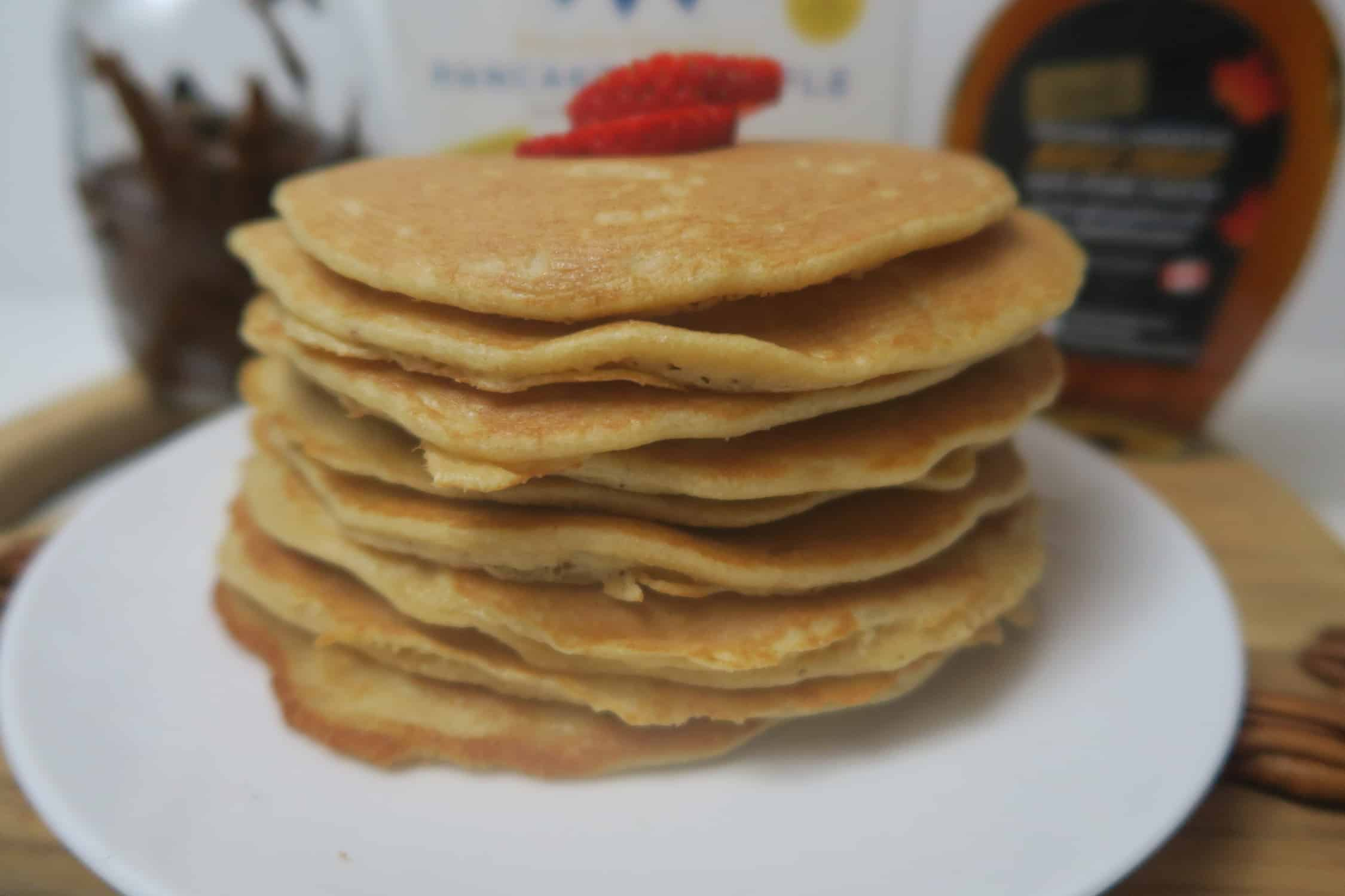 Light and fluffy almond flour pancakes pancakes ccuart Image collections