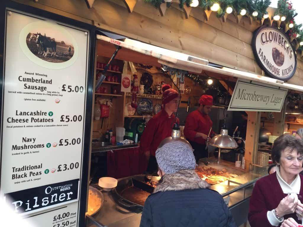 gluten free at manchester christmas market