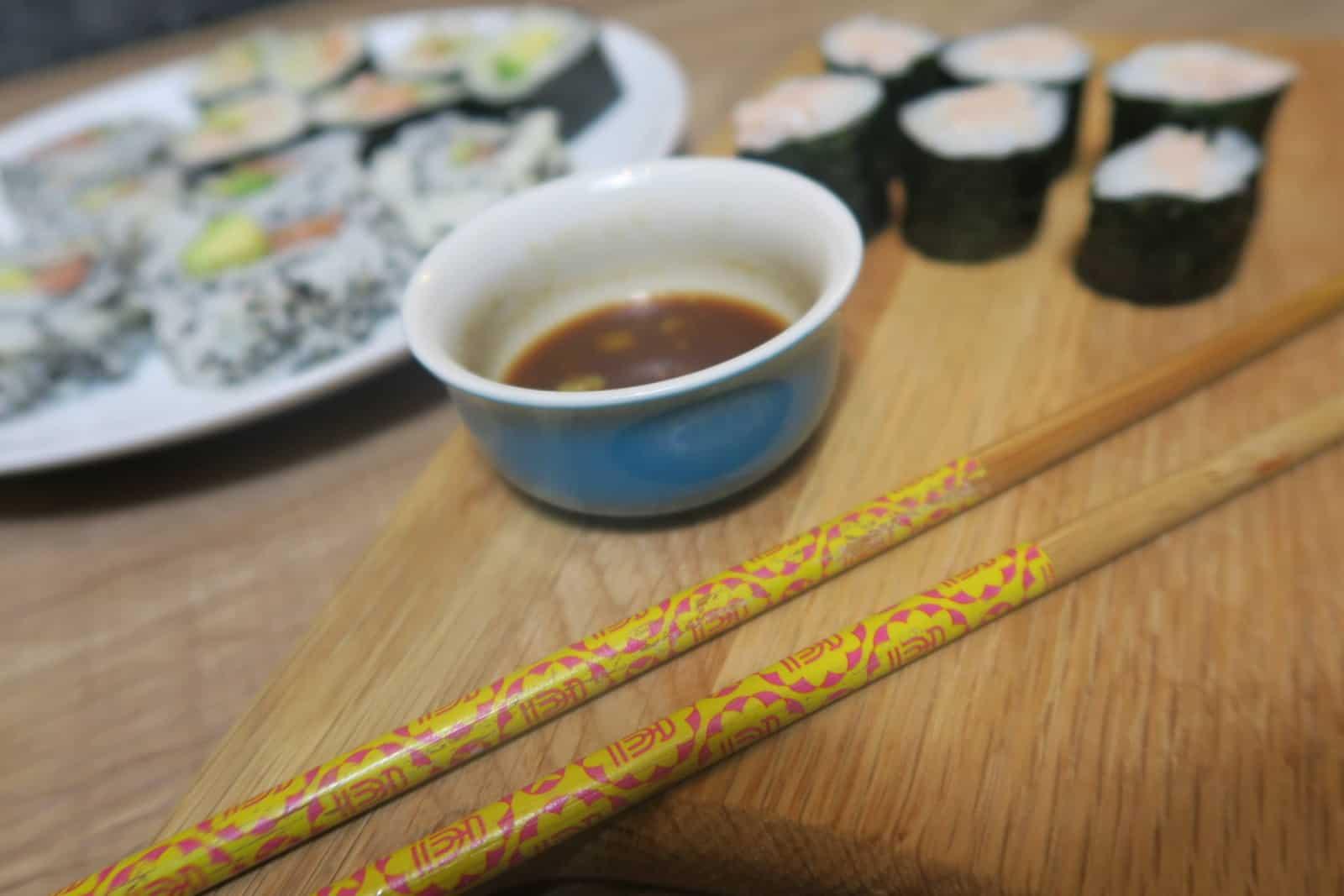 gluten free sushi