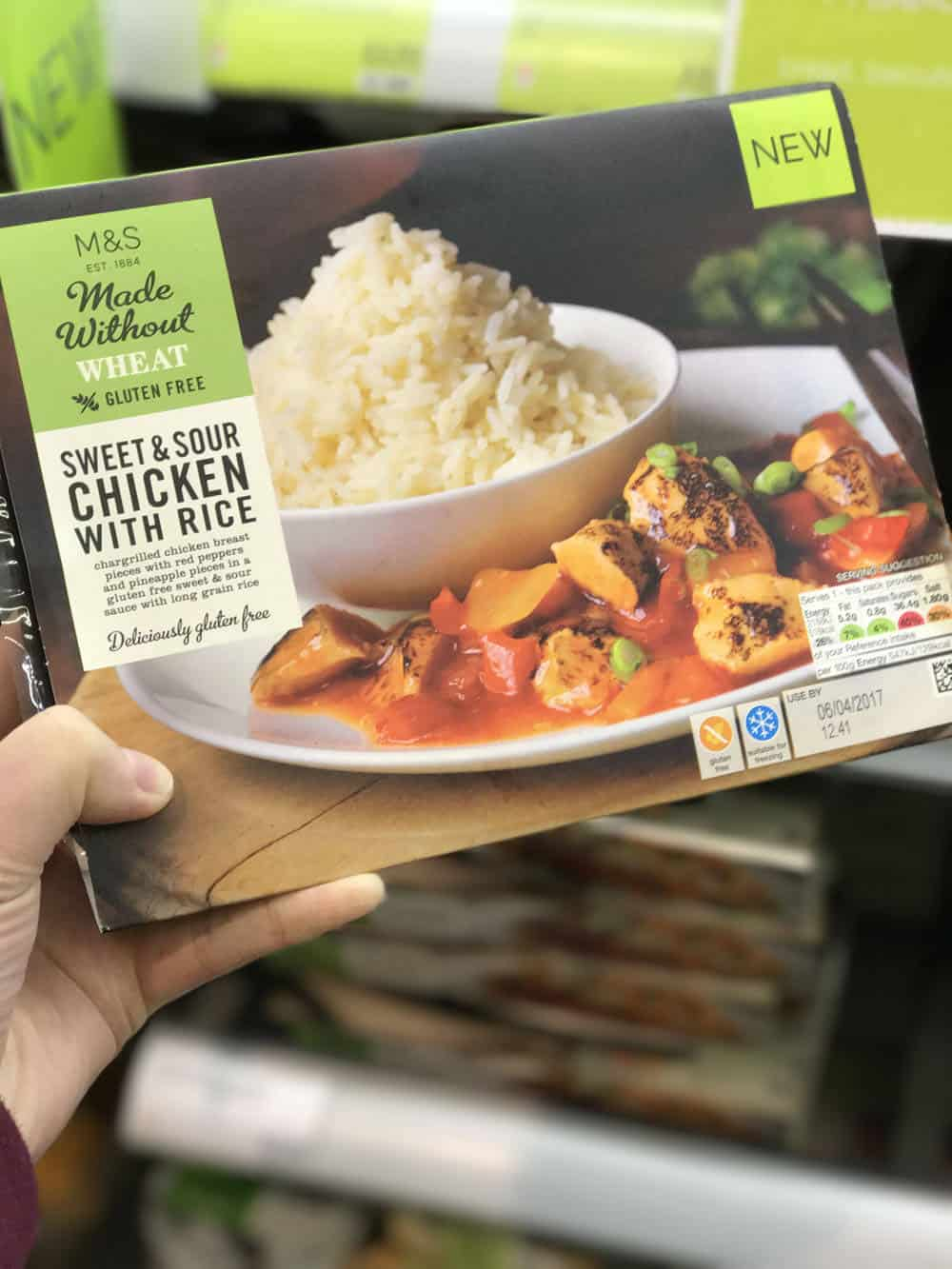 White apron marks and spencer - Marks Spencer Gluten Free Sweet And Sour Chicken