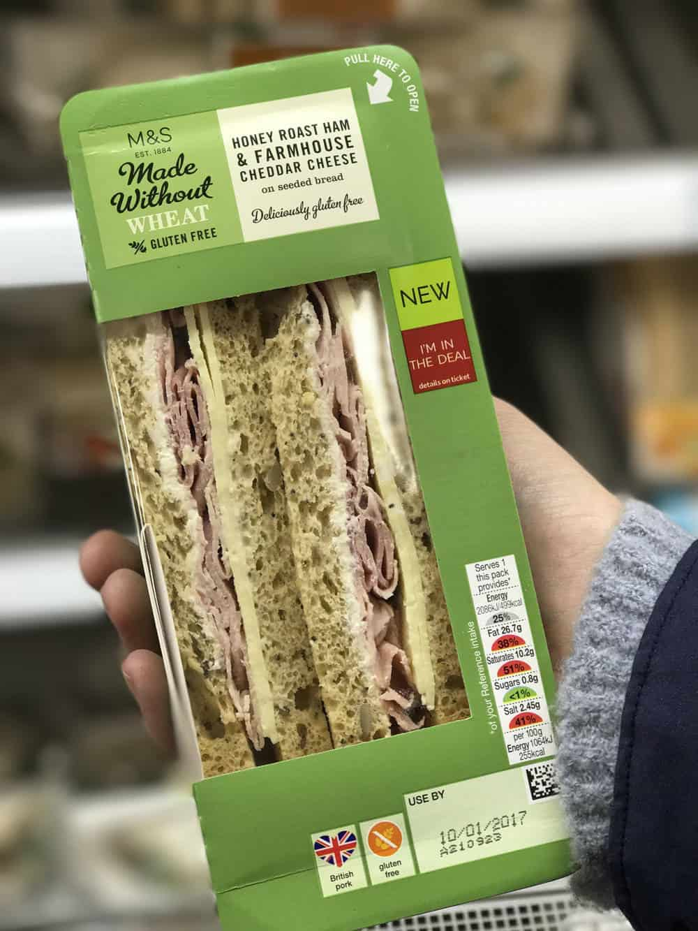 Marks And Spencer Food Gluten Free Sandwiches