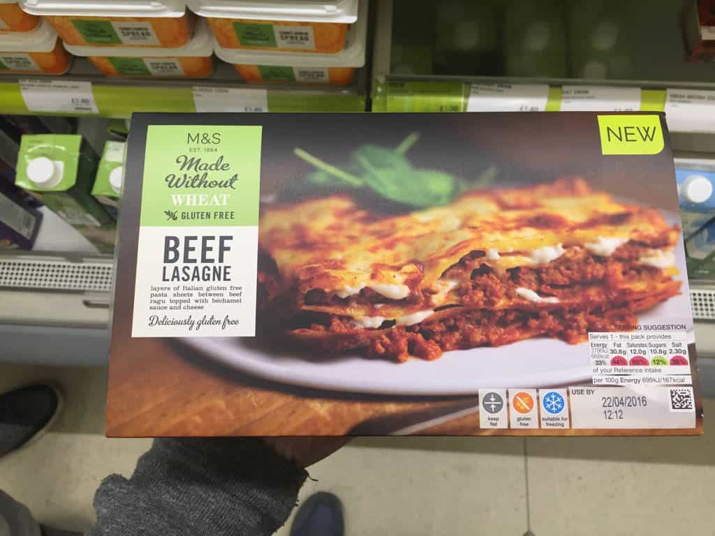 Let's Check Out The Marks and Spencer Gluten Free Range!