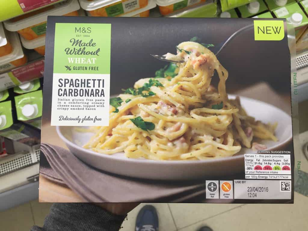 marks and spencer gluten free