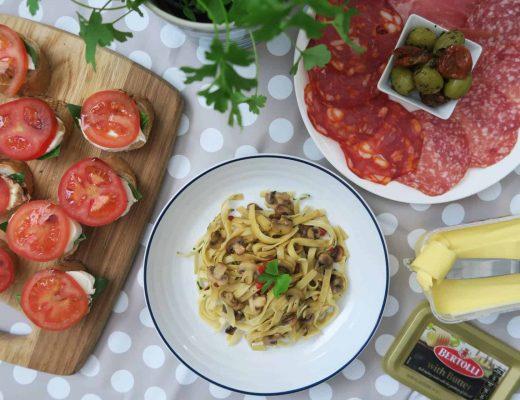 gluten-free-tagliatelle-garlic-mushrooms-4
