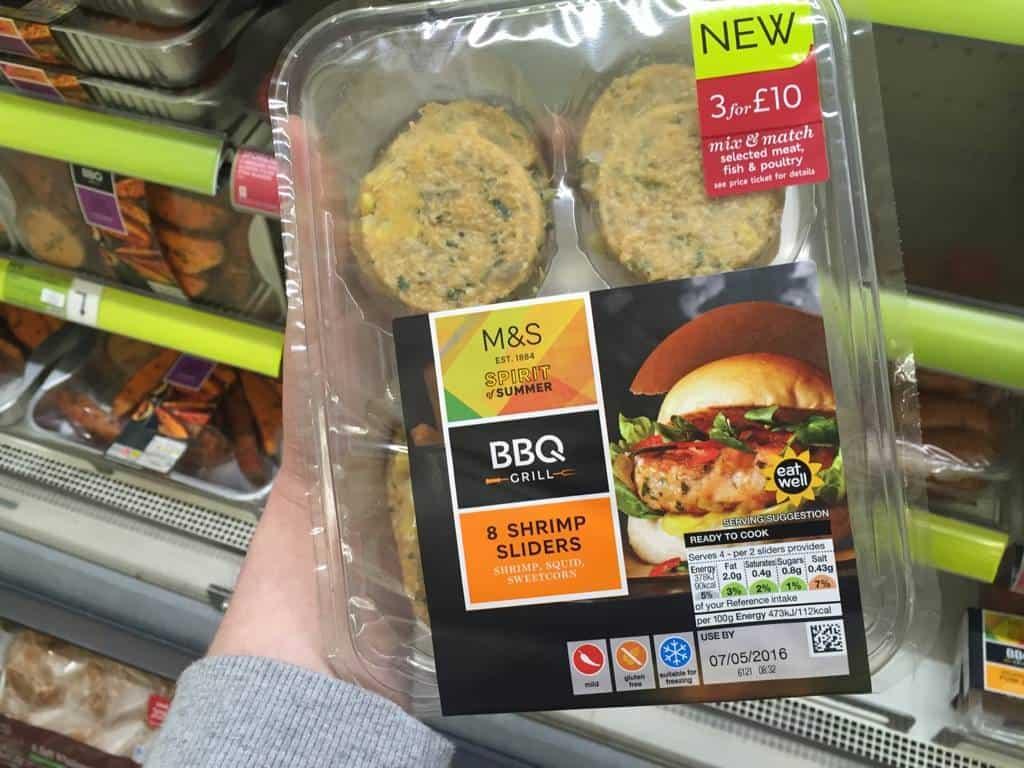 Marks And Spencer Spirit Of Summer Food Range