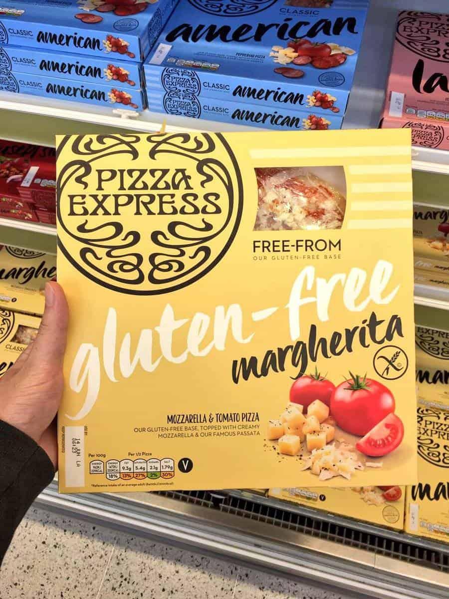 gluten free pizza express