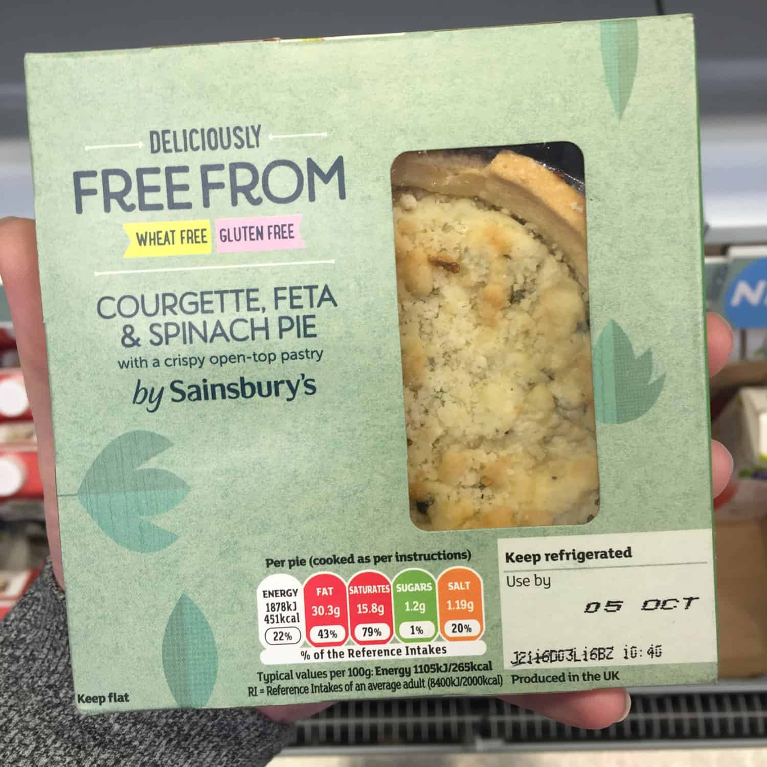 free from sainsburys