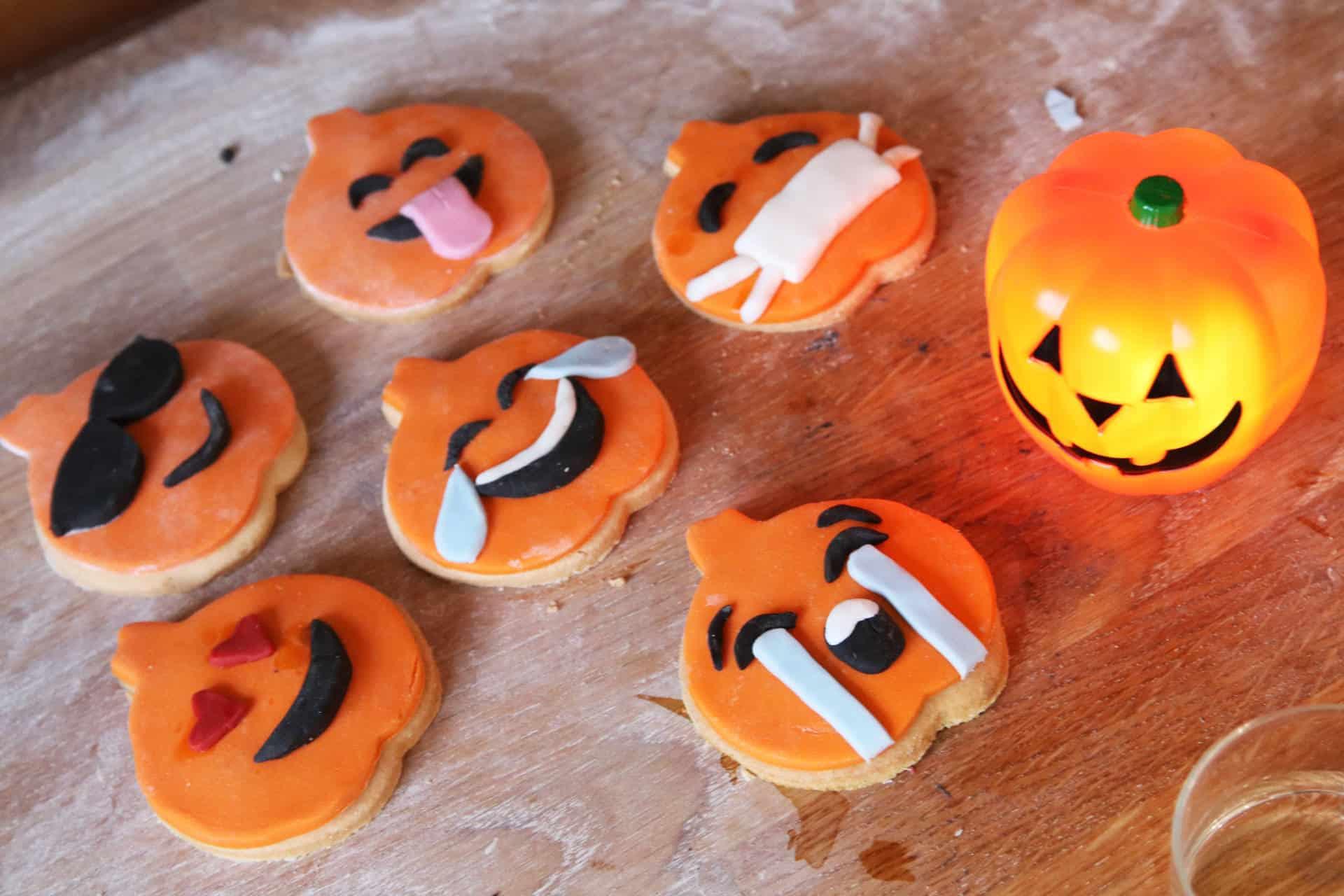 recipe: gluten free halloween emoji cookies
