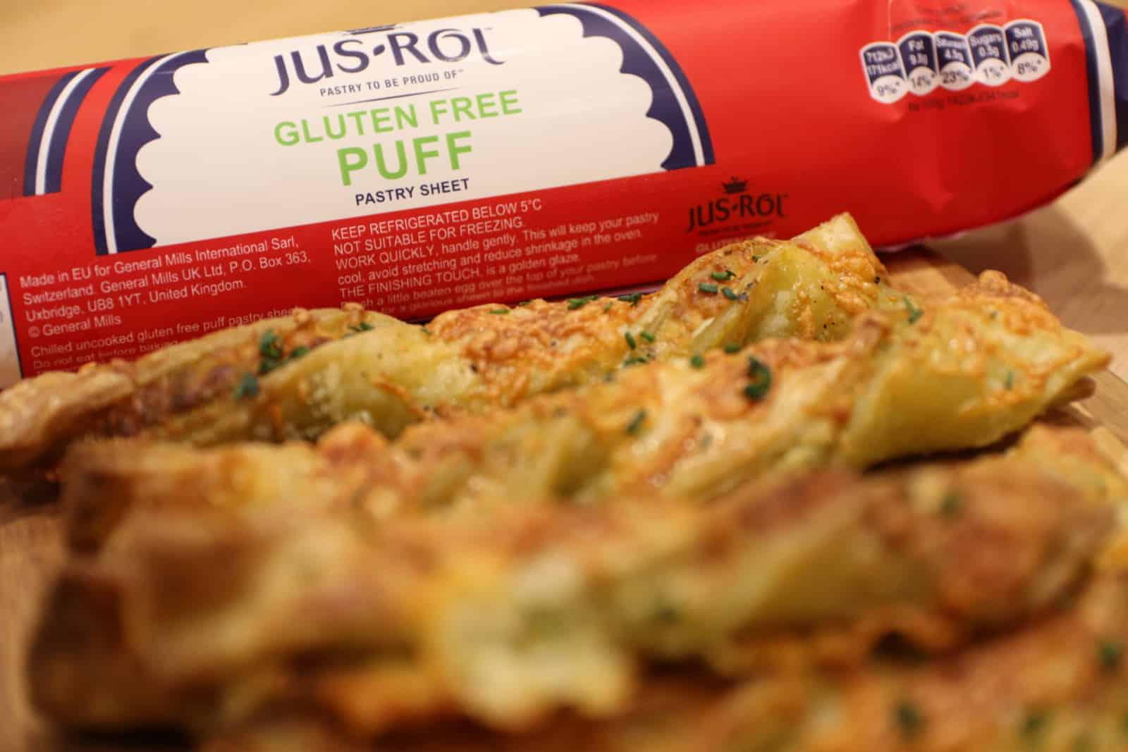 Gluten Free Cheese and Pesto Straws