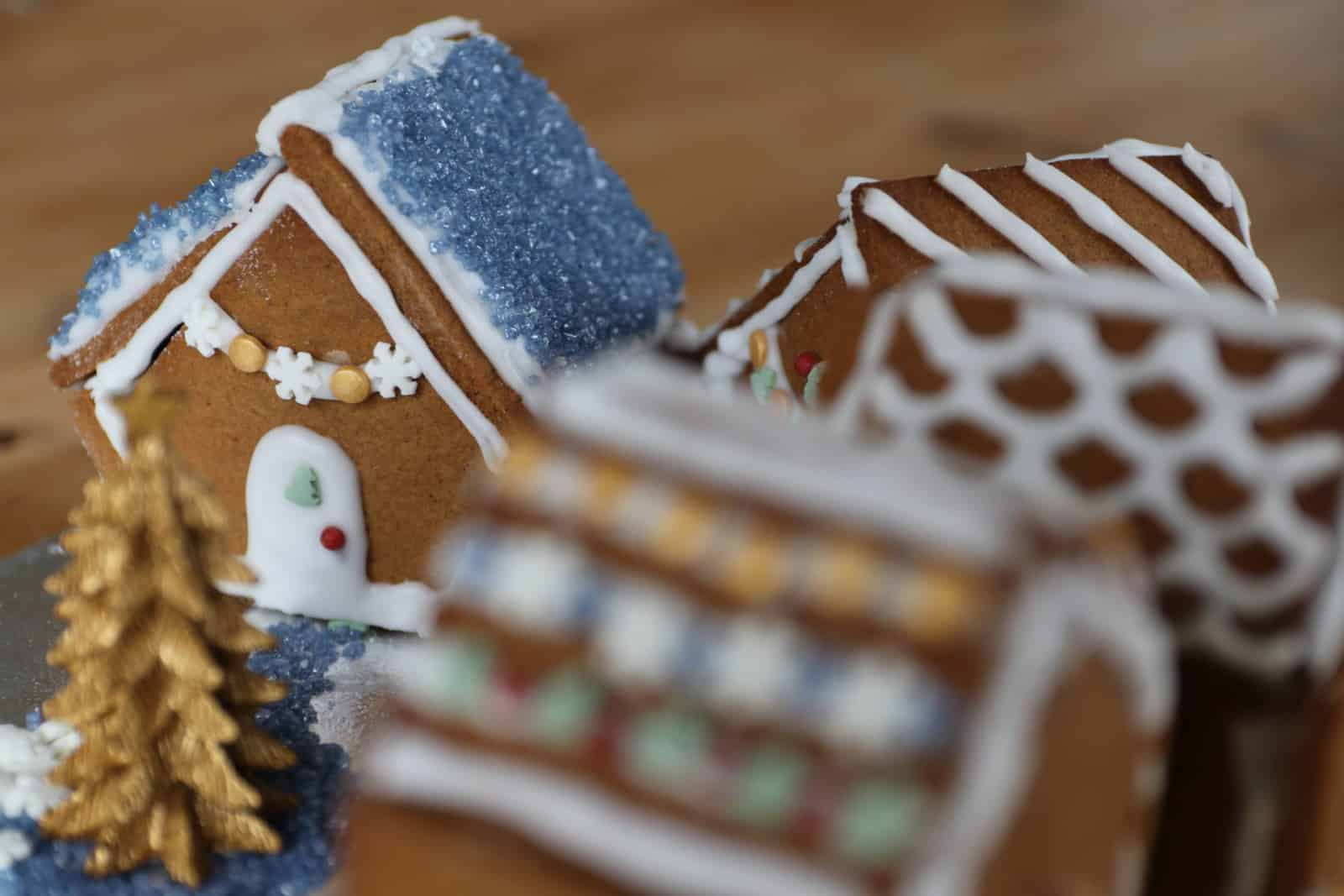 Gluten Free Gingerbread Houses Recipe Dairy Free Low