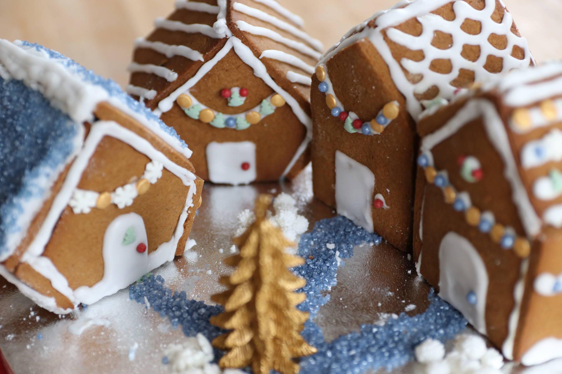 Gluten Free Gingerbread Houses Recipe Dairy Free Low Fodmap