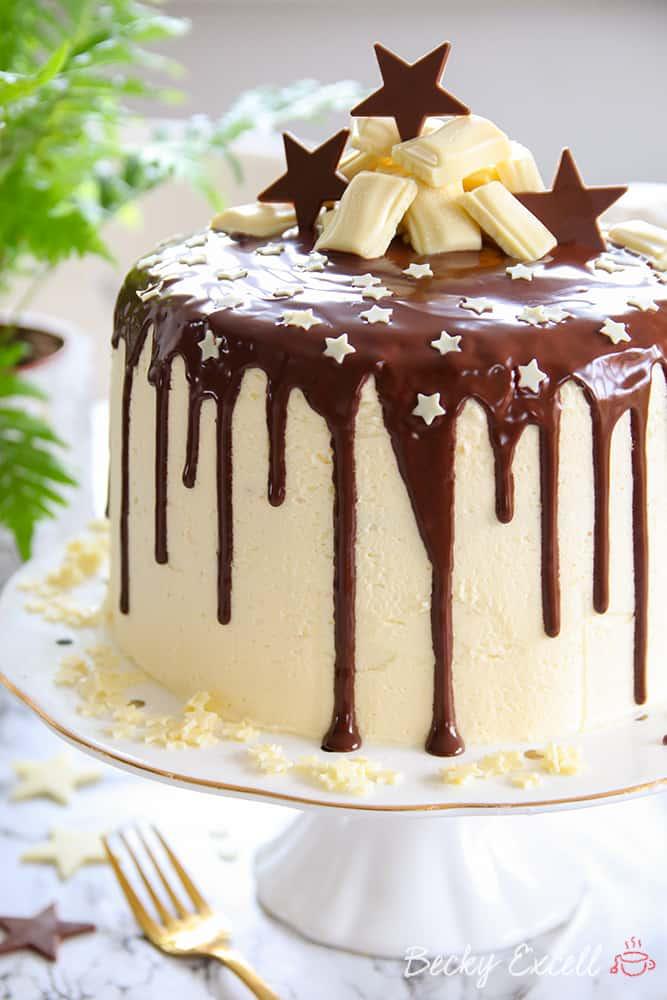gluten free chocolate drip cake recipe