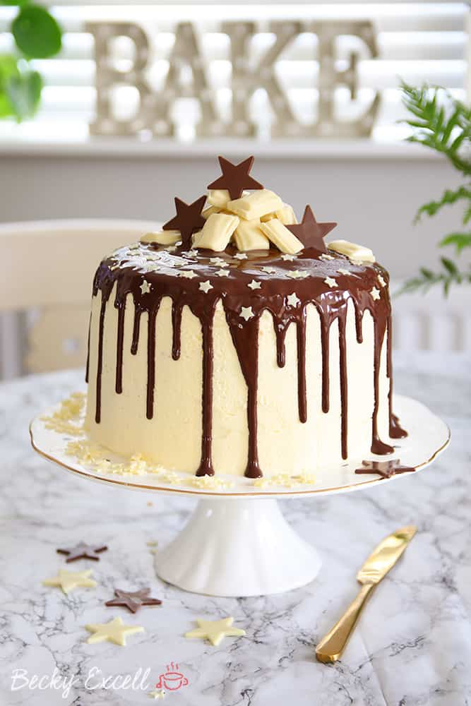 gluten free chocolate drip cake recipe