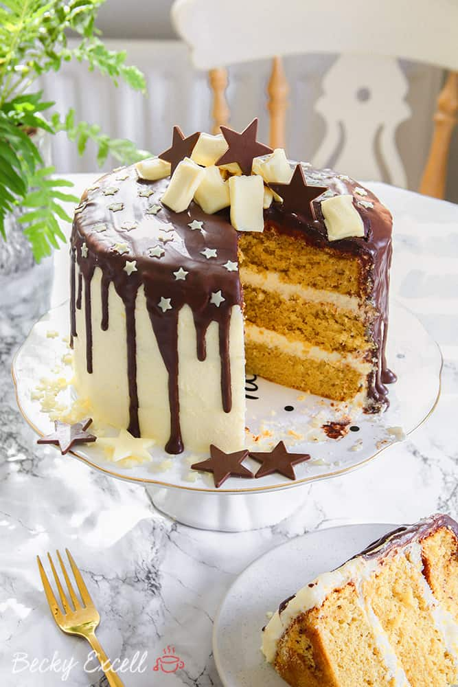 My Gluten Free Chocolate Drip Cake Recipe Dairy Free Low Fodmap