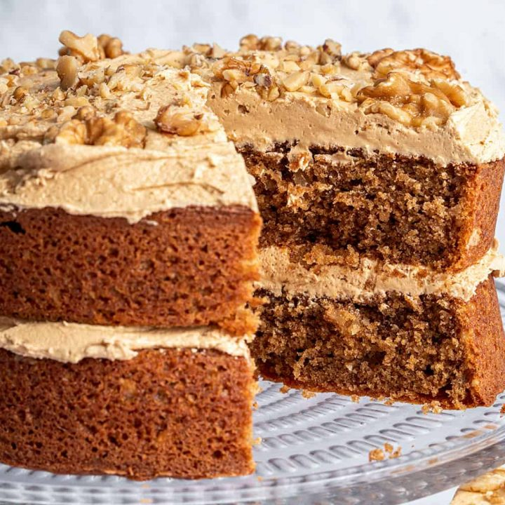 Gluten Free Coffee Walnut Cake Recipe Best Ever Dairy Free