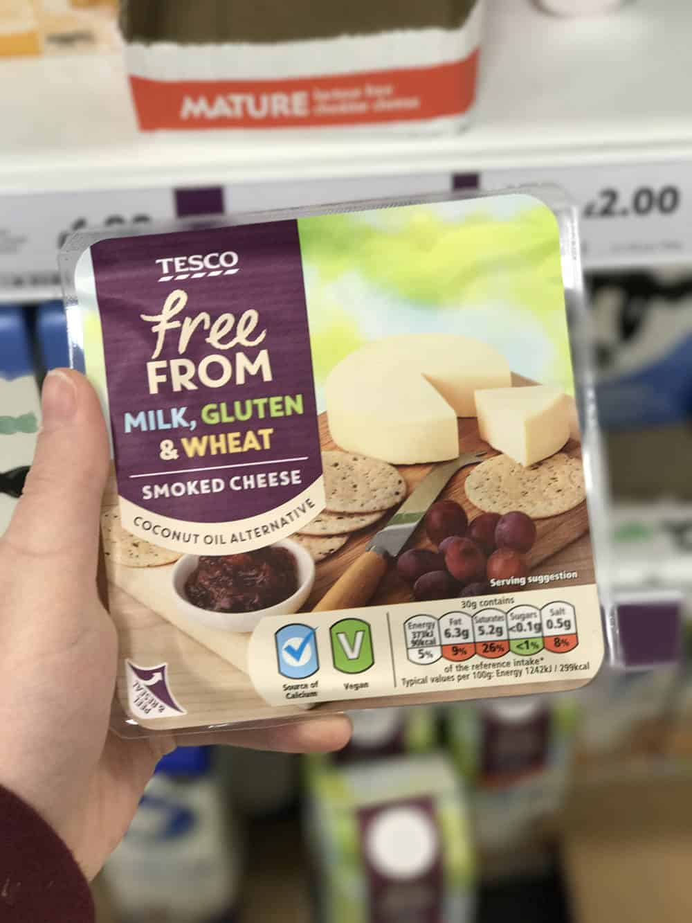 Lets Take A Look At Tescos New Lactose Free Dairy Free