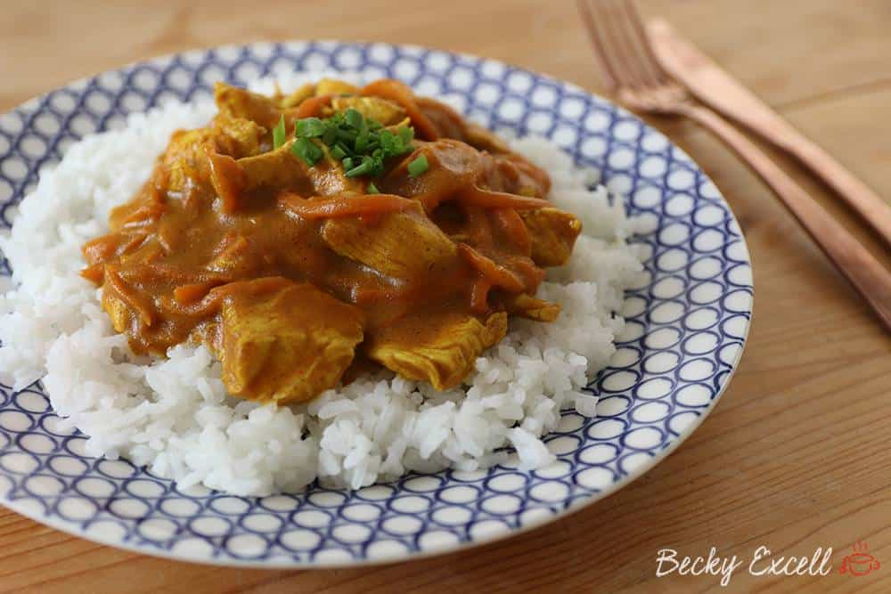 gluten free chinese chicken curry