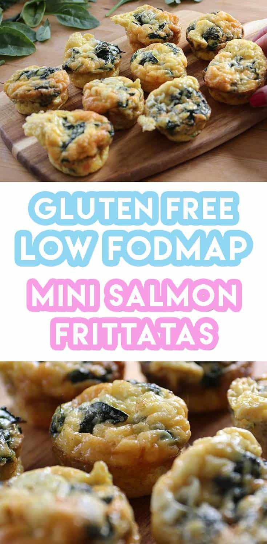 Gluten Free & low FODMAP Smoked Salmon Florentine Mini Frittatas Recipe