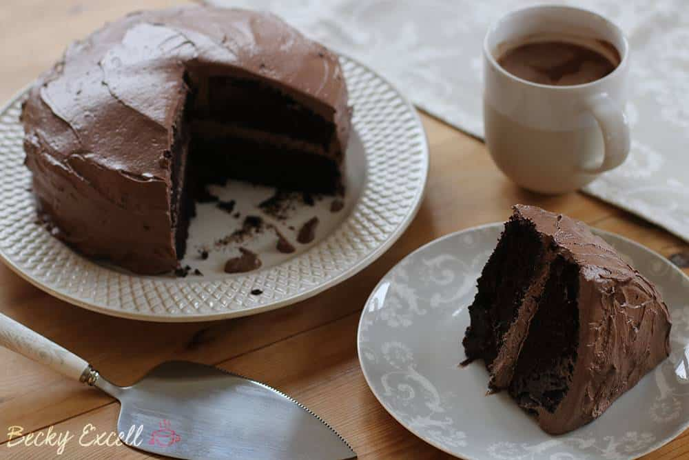 my wickedly chocolatey gluten free chocolate cake recipe dairy free