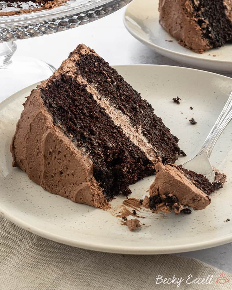 Gluten Free Chocolate Cake Recipe (dairy free, low FODMAP)