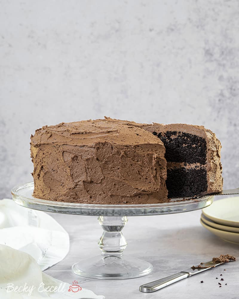 Gluten Free Chocolate Cake Recipe (dairy free, low FODMAP)