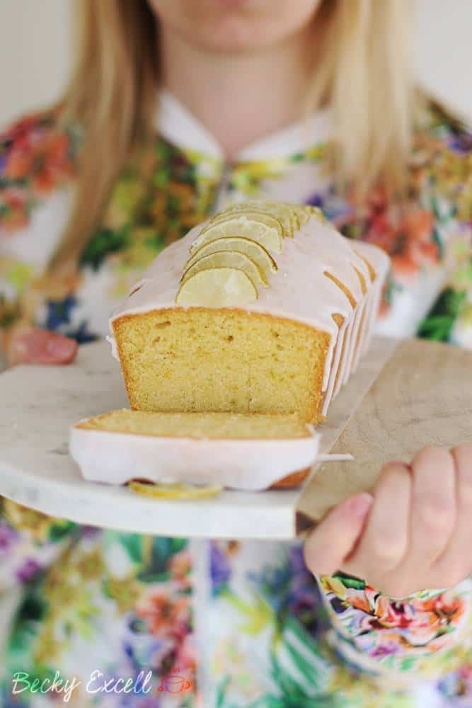 Gluten Free Gin and Tonic Drizzle Cake Recipe (dairy free and low FODMAP)