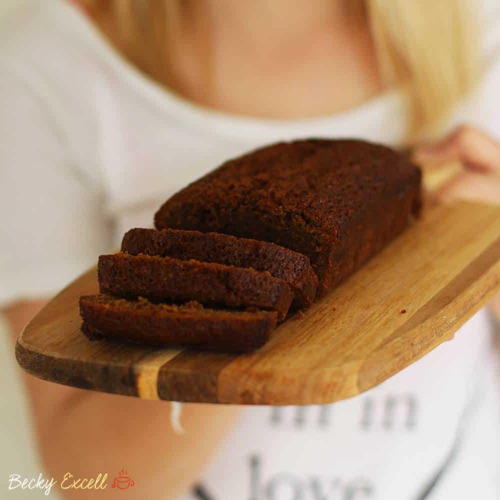 Gluten free Jamaican ginger loaf cake recipe