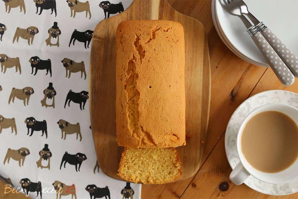 gluten free Madeira loaf cake recipe