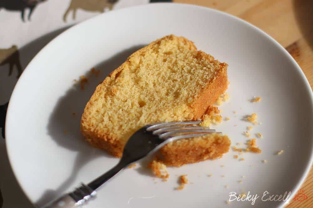 Gluten Free Lemon Madeira Cake Recipe
