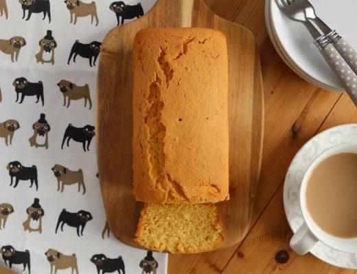 gluten free Maderia loaf cake