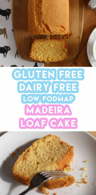 Gluten And Dairy Free Madeira Cake Recipe