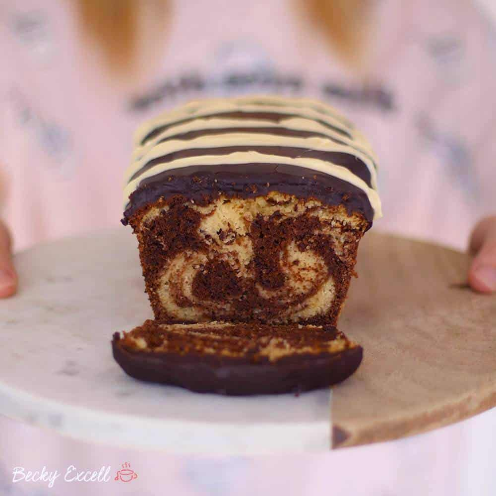 gluten free chocolate marble cake
