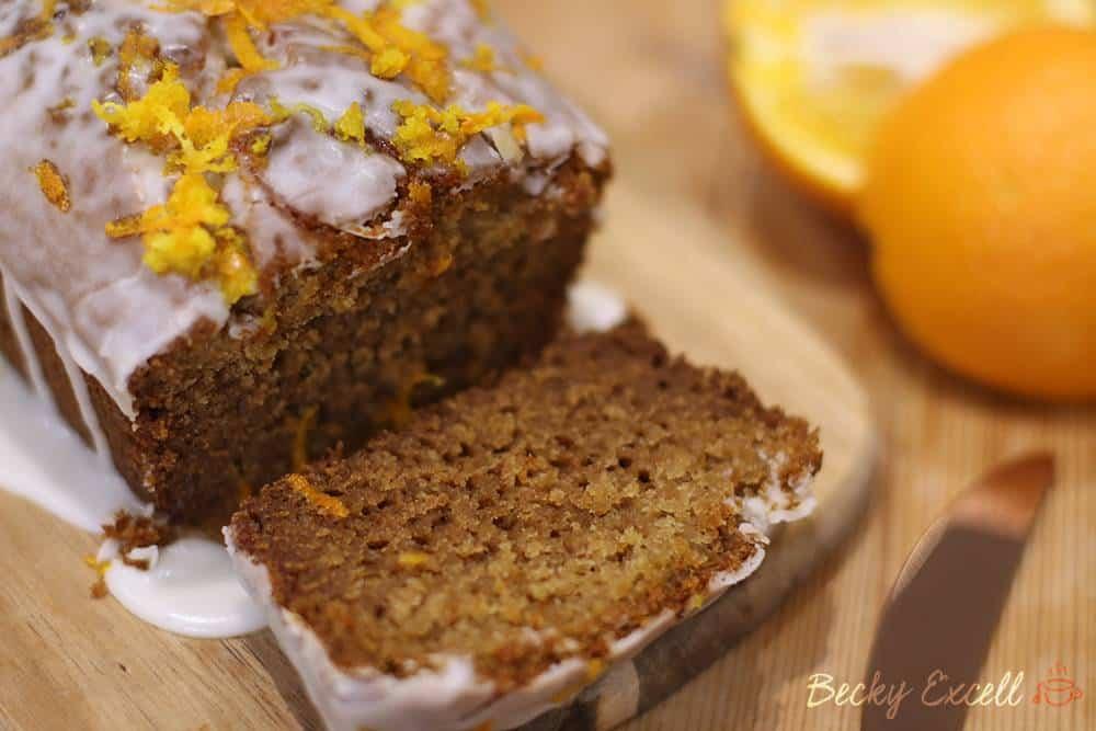 Gluten free marmalade loaf cake recipe