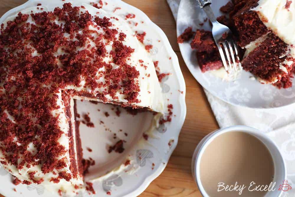 Gluten Free Red Velvet Cake Recipe Dairy Free And Low Fodmap
