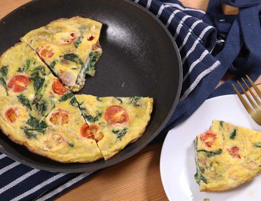 Meal Prep Breakfast Frittata Recipe (low FODMAP & dairy free)